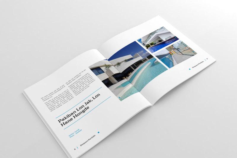 square-portfolio-template