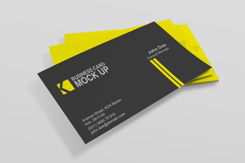 Free Business Card Mockups (PSD Mockups)