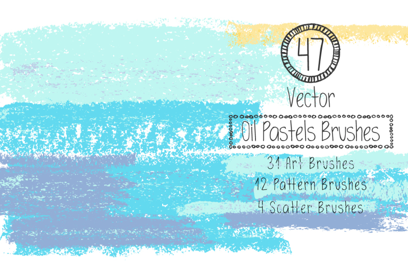 vector-oil-pastels-brushes