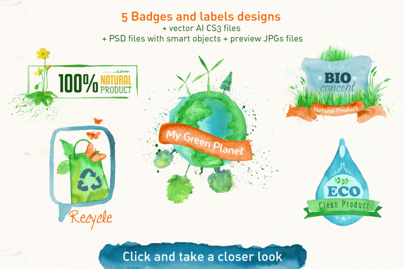 green-design-set