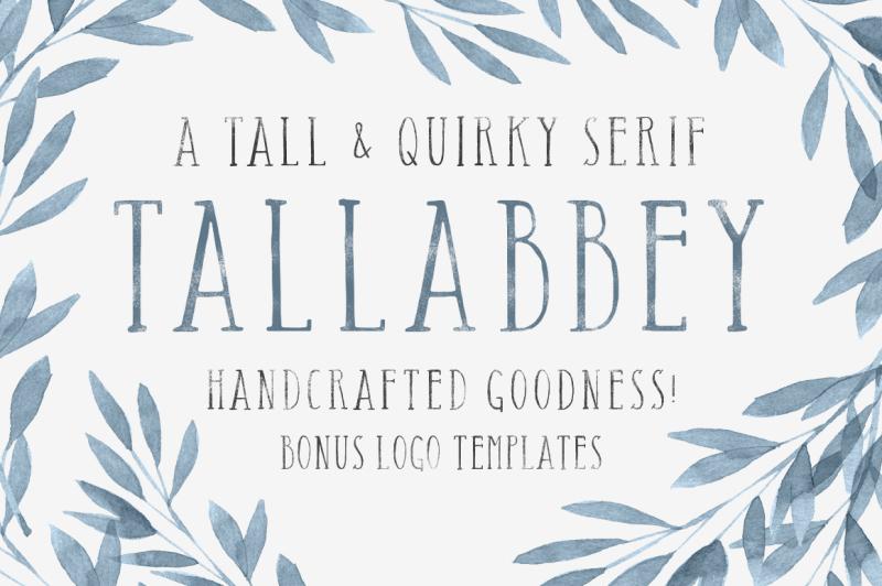 tall-abbey-serif-5-logo-templates