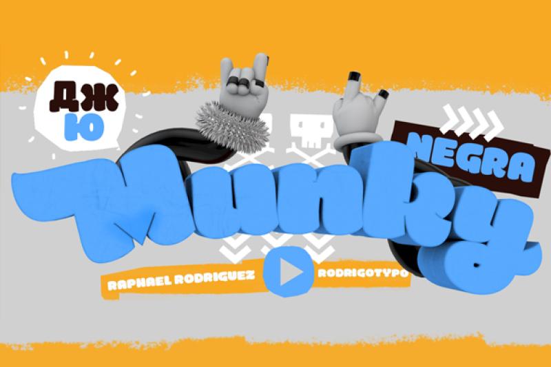 munky-negra