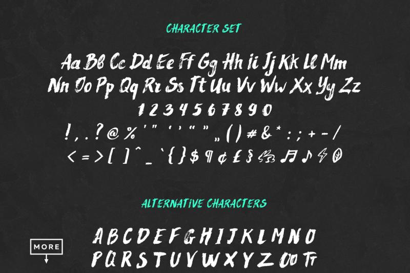 rocket-surfing-font-extras
