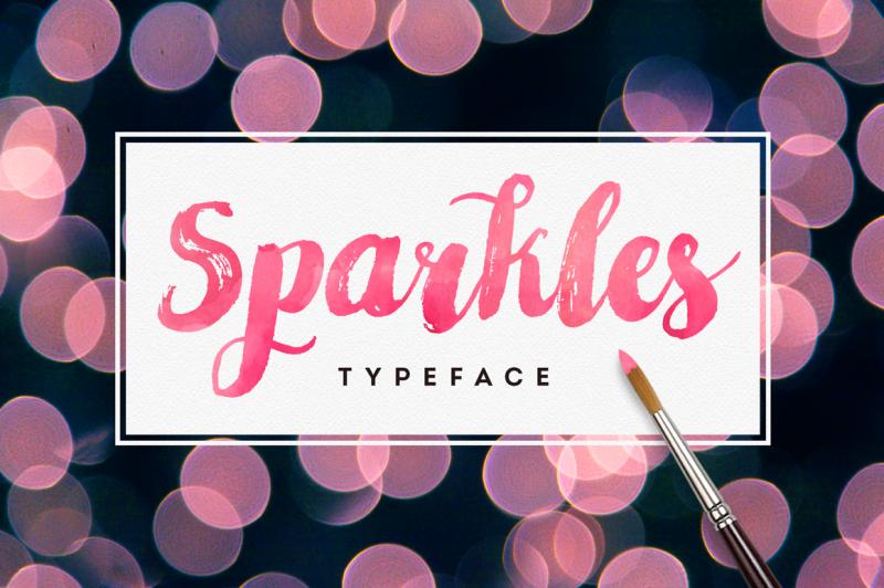 sparkles-typeface