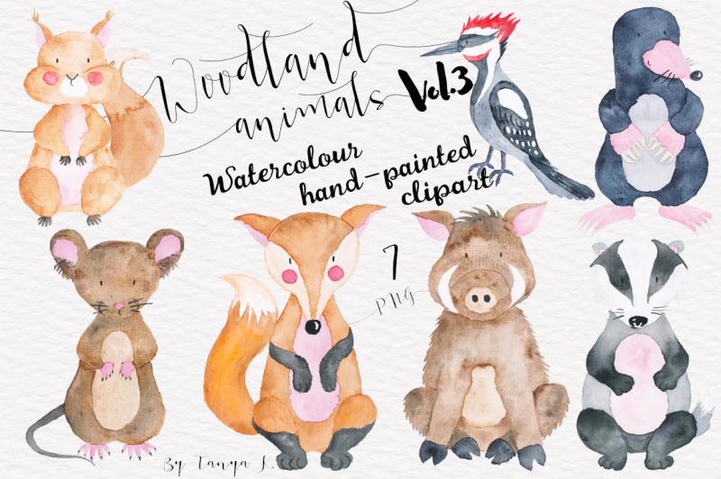 woodland-animals-vol-3-watercolor-set