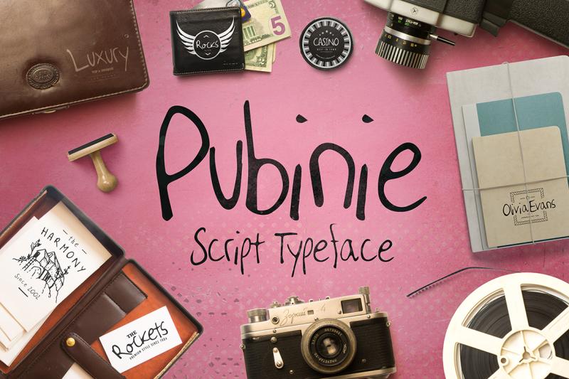 pubinie-script-typeface