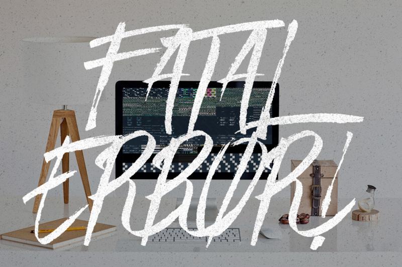 easy-brush-font