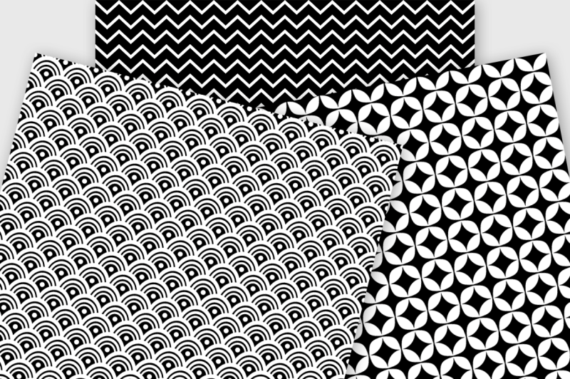 black-and-white-vol-2-patterned-digital-paper