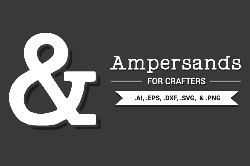 ampersands-for-crafters