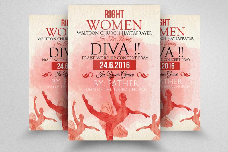 women-day-flyer-template
