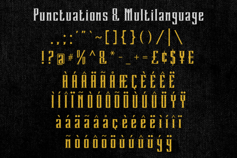 grandeven-typeface