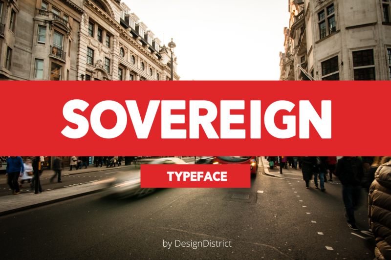 sovereign-typeface