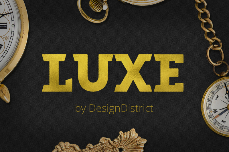 luxe-font
