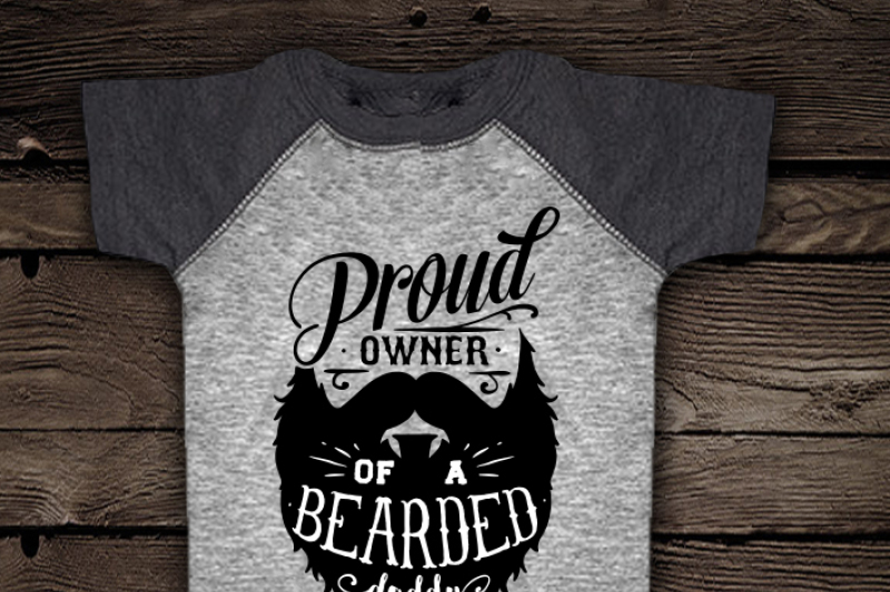 Proud Owner Of A Bearded Daddy Svg By Blackcatssvg Thehungryjpeg Com