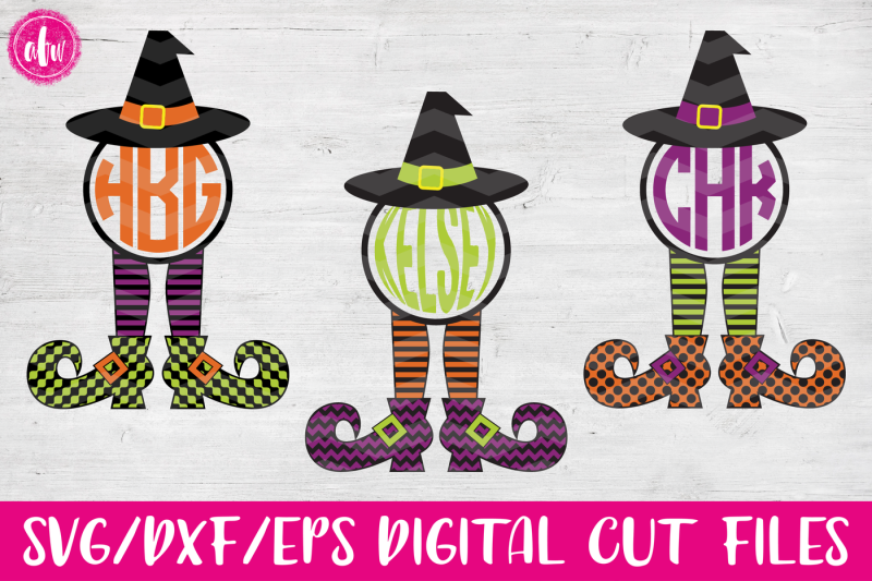 monogram-witch-legs-bundle-svg-dxf-eps-cut-files
