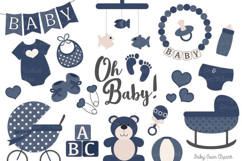 navy-vector-baby-items