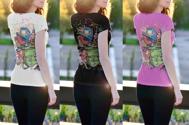 12-t-shirt-mock-up-female-edition