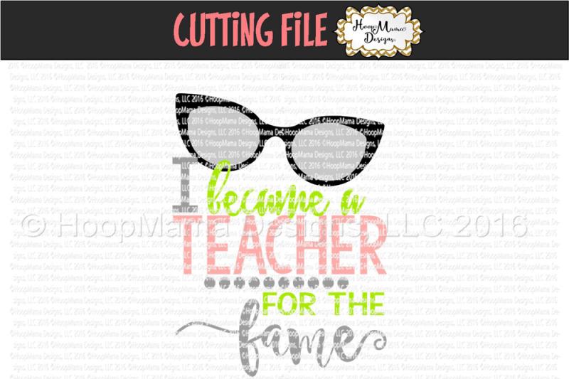 i-became-a-teacher-for-the-fame