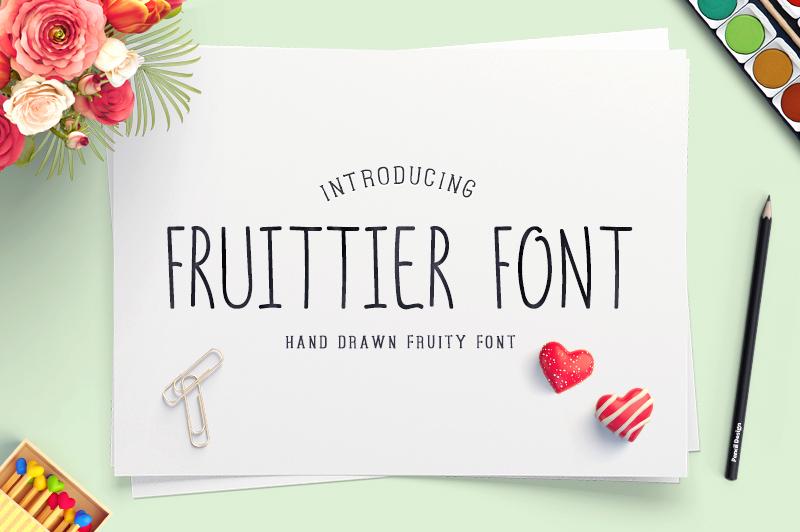 fruittier-font