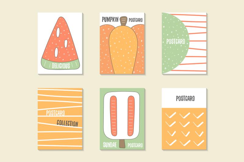 postcards-set