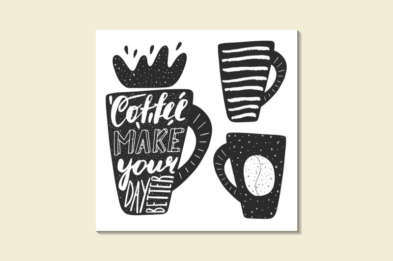 black-logotypes-set