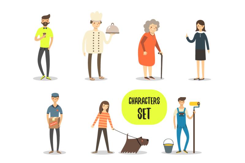 flat-characters