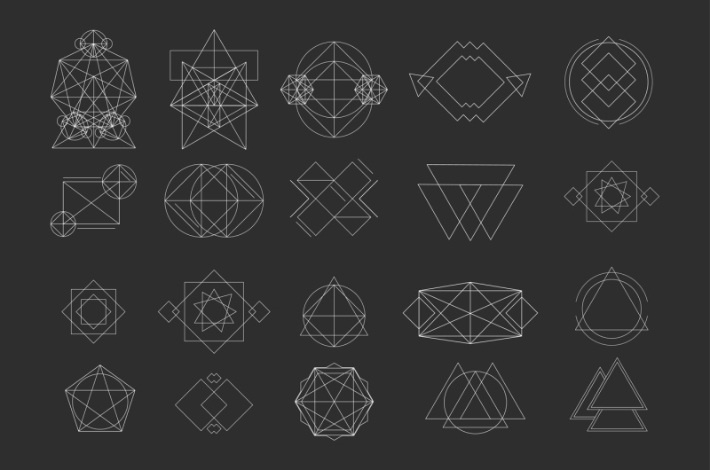 vector-geometric-shapes-signs