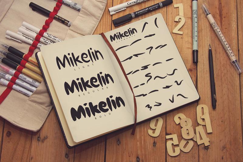 mikelin-typeface