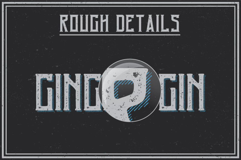 ginger-gin-label-typeface