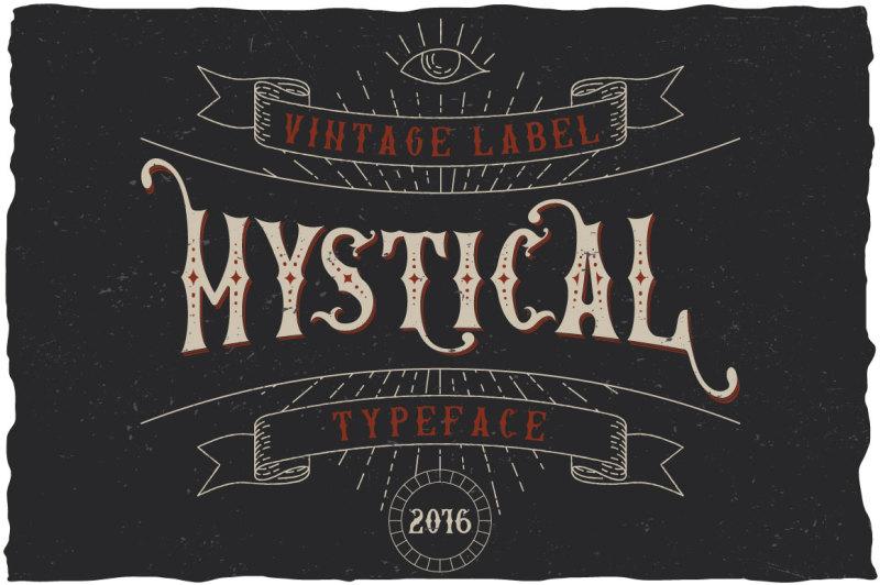 mystic-label-typeface