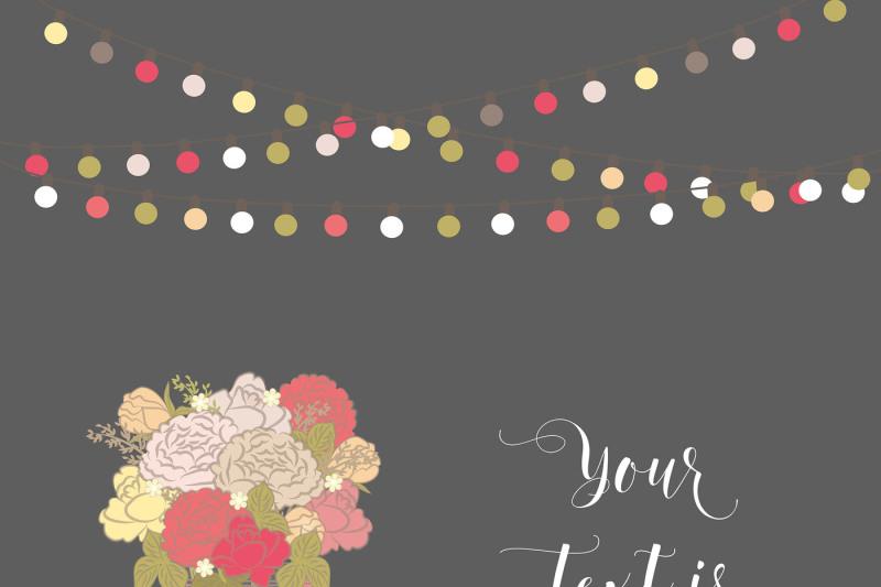 vector-wedding-invitation-color-bouquet