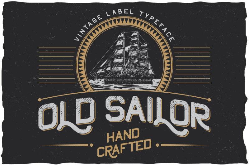 oldsailor-vintage-typeface