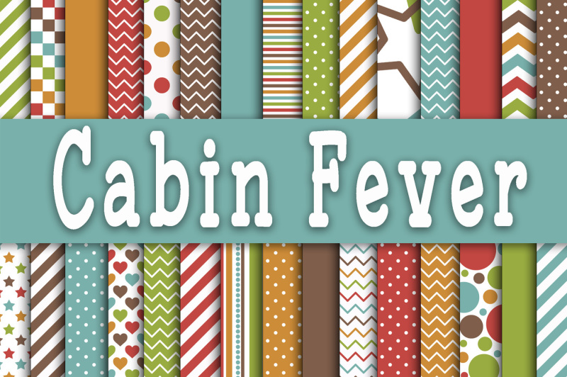 cabin-fever-digital-papers
