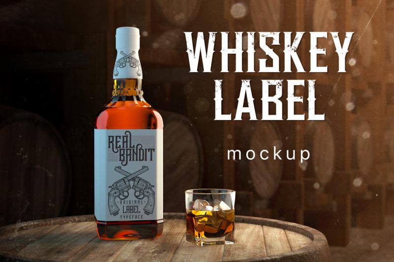 whiskey-bottle-label-mockup