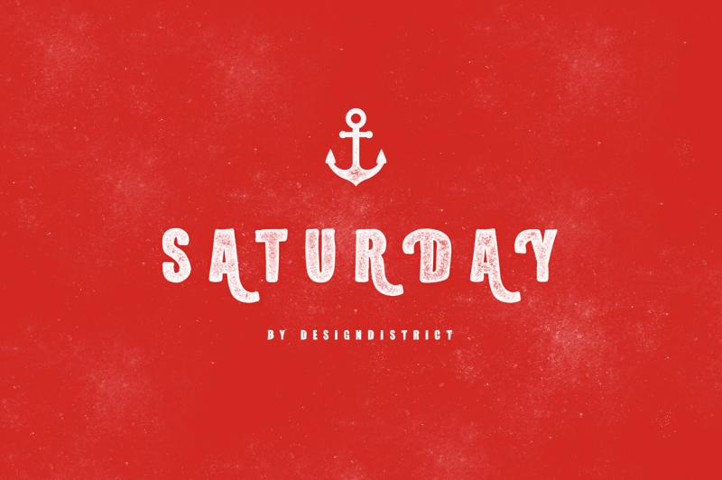 saturday-typeface