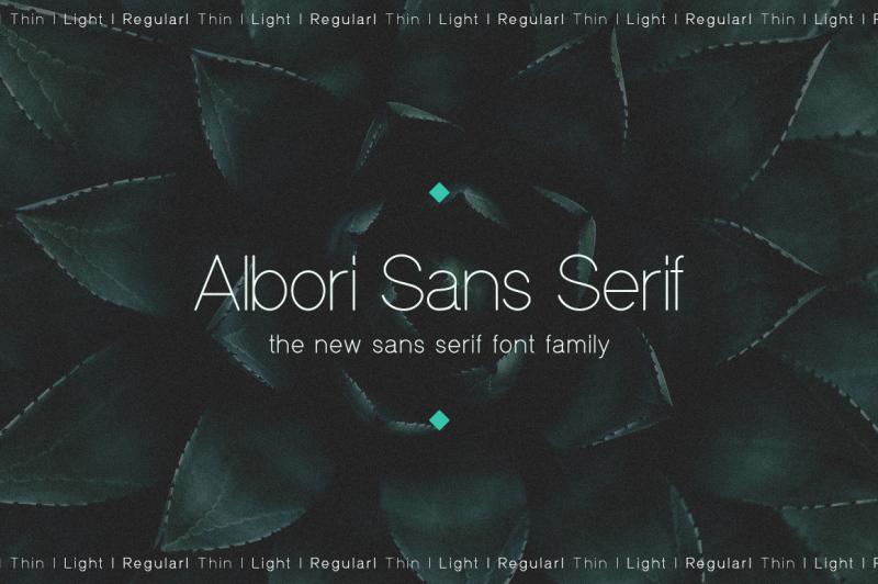 albori-sans-serif