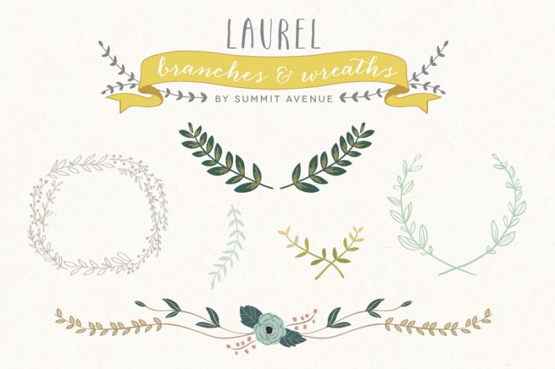 vintage-laurel-and-wreath-designs