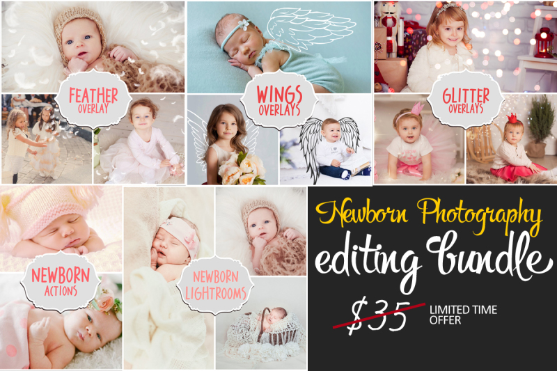 Newborn Photography Editing Bundle