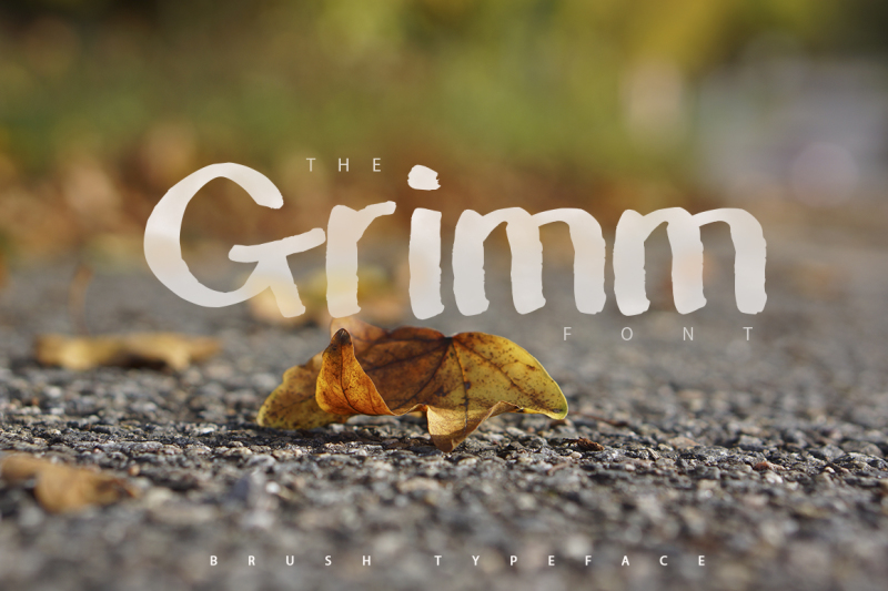 the-grimm-brush-typeface