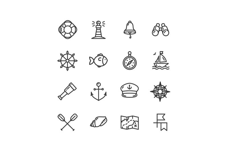 nautical-sea-icon-set-vector
