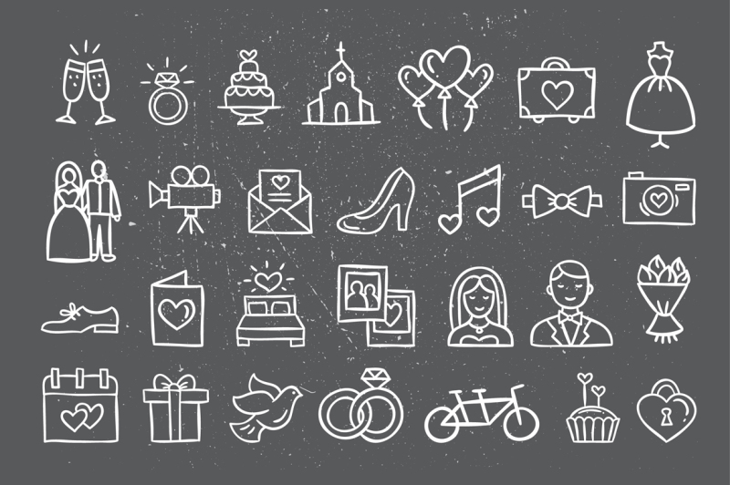wedding-icons