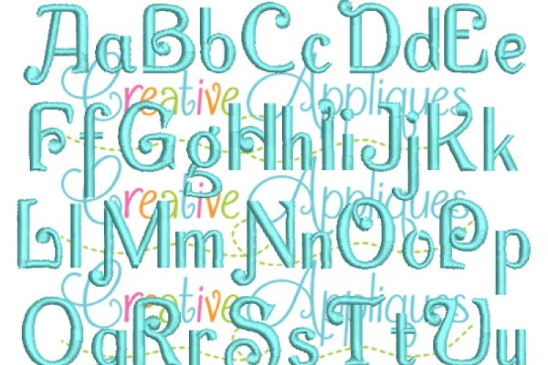 Charming Embroidery Font By Creative Appliques Creative Cuts Thehungryjpeg Com