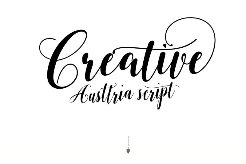 austtria-script-and-letter