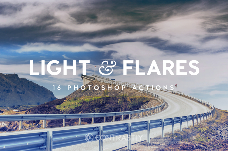 light-and-flares-photoshop-actions