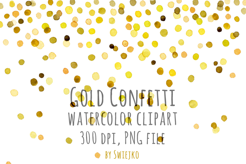 watercolor-clipart-digital-confetti-frame-new-year-christmas