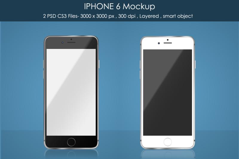 Download IPHONE 6 Mockup Free Mockups