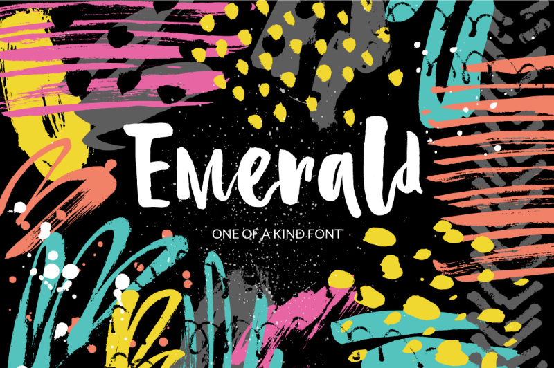 emerald-playful-brush-font