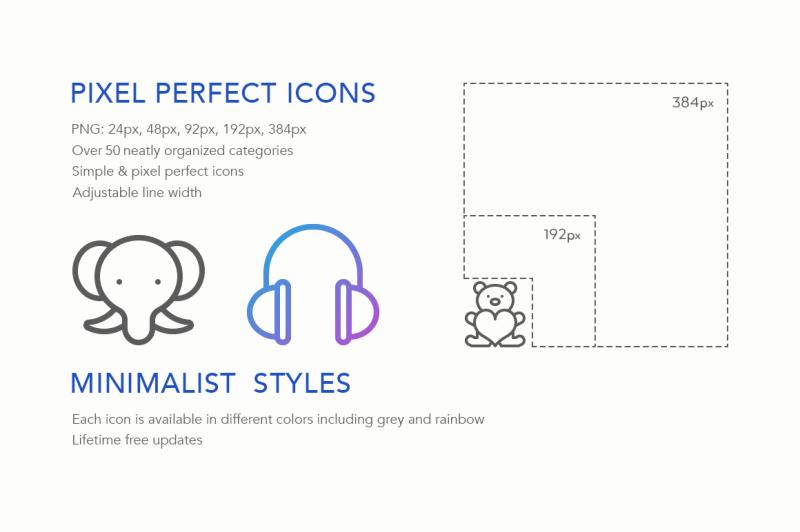 celebration-line-icons