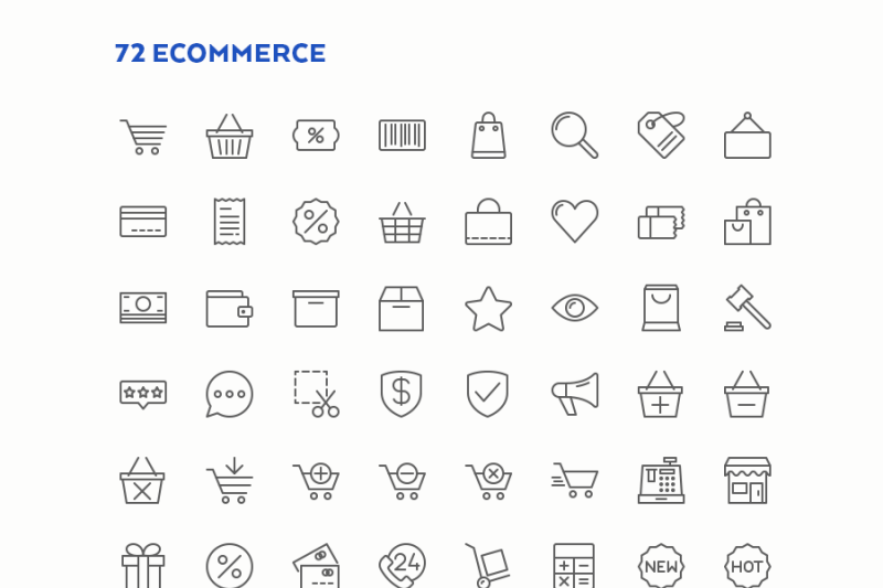 finance-and-shopping-icons