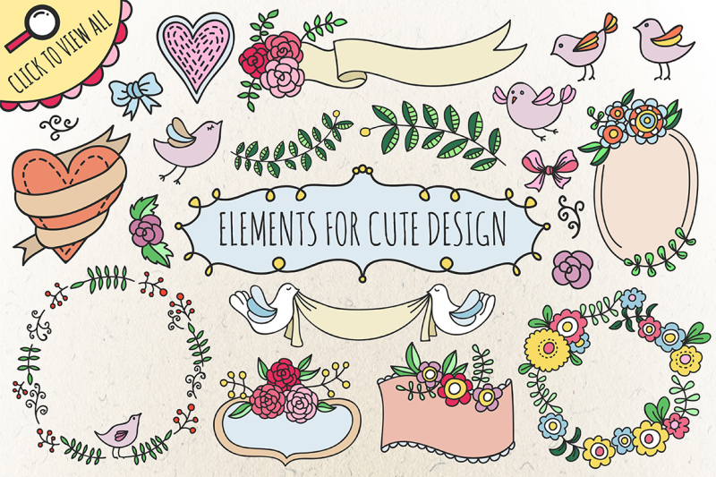 elements-for-cute-design